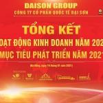 ĐẠI SƠN GROUP: TỔNG KẾT HOẠT ĐỘNG KINH DOANH NĂM 2020 & MỤC TIÊU PHÁT TRIỂN NĂM 2021
