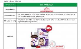 Thông báo ra mắt sản phẩm mới Eva Paristech